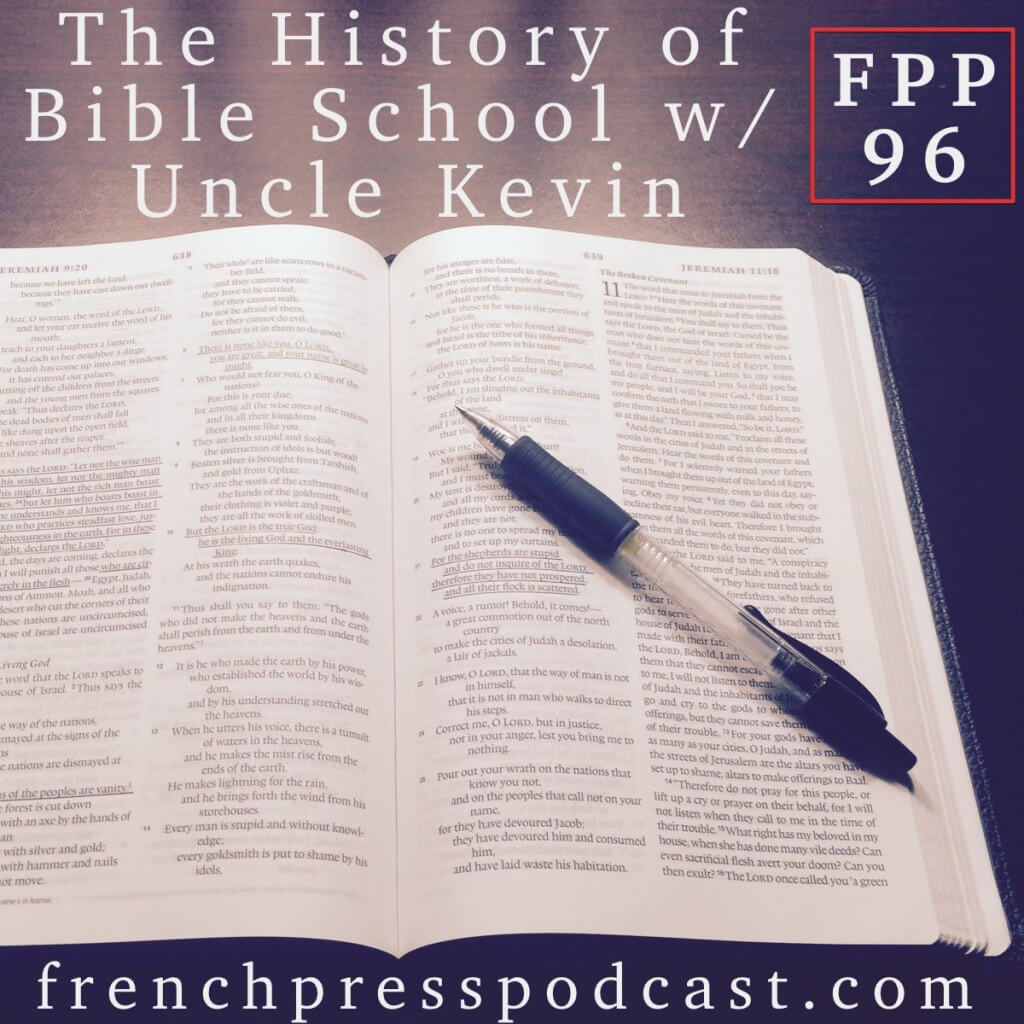 Leighton & Kevin stories from Bible School