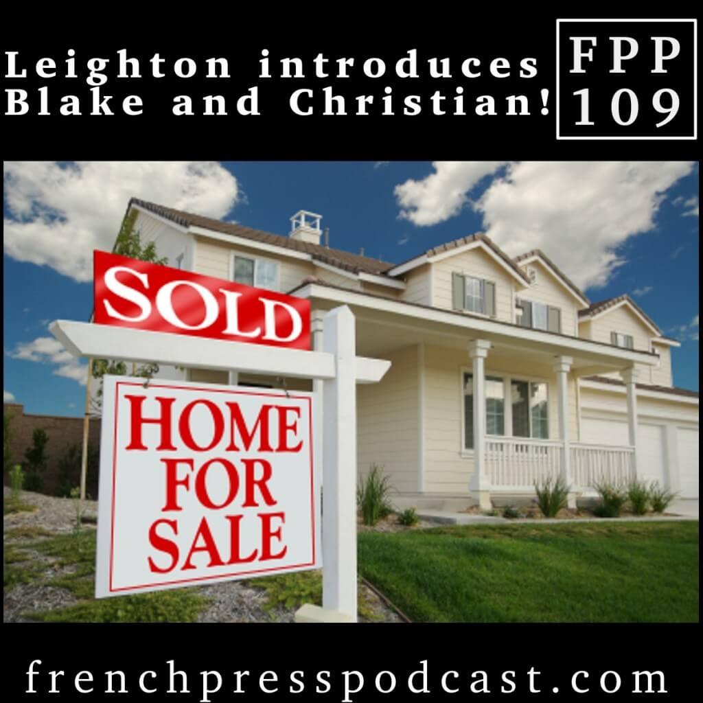 Leighton Introduces Blake and Christian