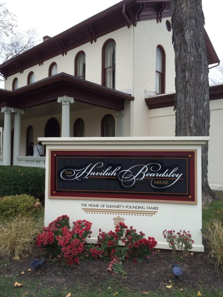 Beardsley House in Elkhart Indiana